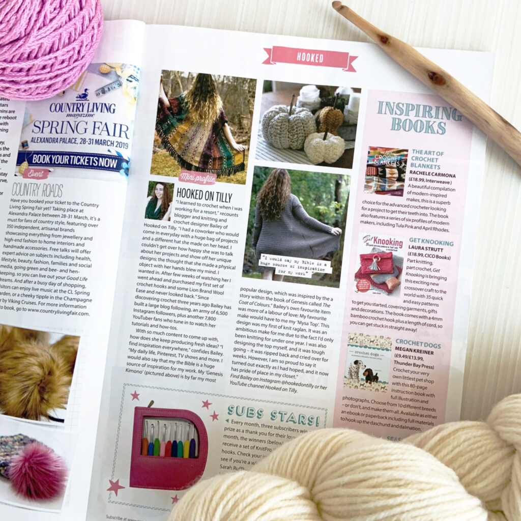Learn about up and coming designers in Simply Crochet Magazine.