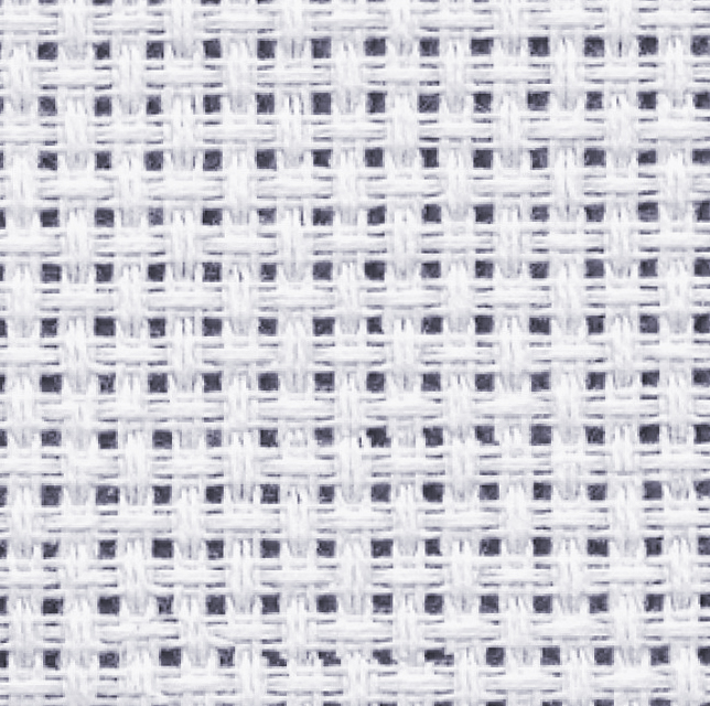 The Cross Stitch Canvas has spaces and grids just like single crochet.  Learn how to embroider on crochet.