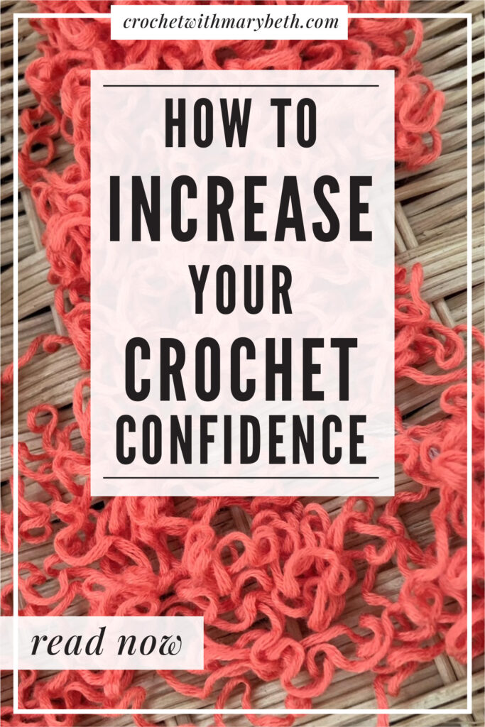 Does this sound familiar? You finish a crochet project and hold it up to admire but all you can see are the mistakes. In this article, Mary Beth Cryan of Crochet with Mary Beth will teach you how to accept tiny imperfections in your work, see mistakes as positive, and understand why you are driven to perfection. Read the web post now and enjoy crocheting more than ever before! #crochettip #crochettutorial #howto #crochetconfidence #crochetmistakes