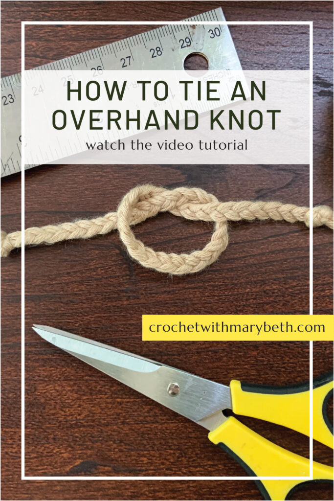What is an overhand knot? My bet is you already know how to make this knot you just don't know it by it's name. In this 50 second video you will learn how to make the knot and a few simple uses for the knot. I hope you find the video useful.