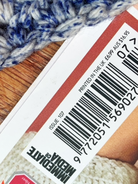 The price label of Simply Crochet Magazine does not include US dollars.  The magazine is usually in a plastic sleeve and the price is on the sleeve in the form of a sticker.