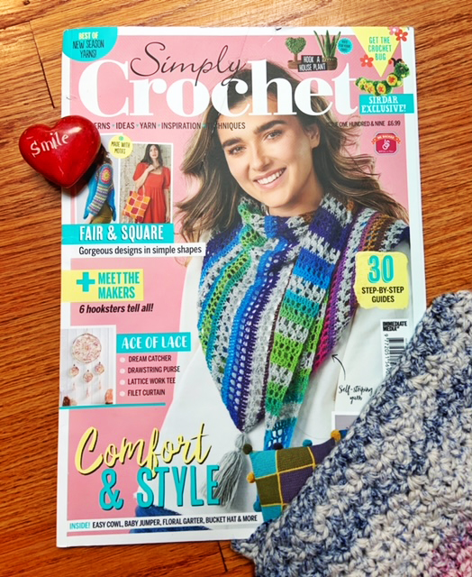 SImply Crochet Magazine April Issue.